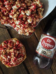 Dr. Pepper Popcorn
