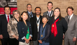 Chancellor's Council Honors Faculty, Celebrates 50th Anniversary