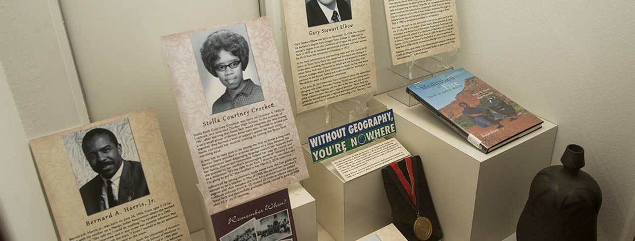 Diversity Exhibit Highlights First Black Woman to Graduate in Four Years from Texas Tech University