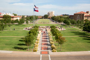 Memorial Circle is the one place on campus that is in the collective memory of visitors, students, faculty and staff.