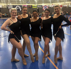 Texas Tech University Twirlers