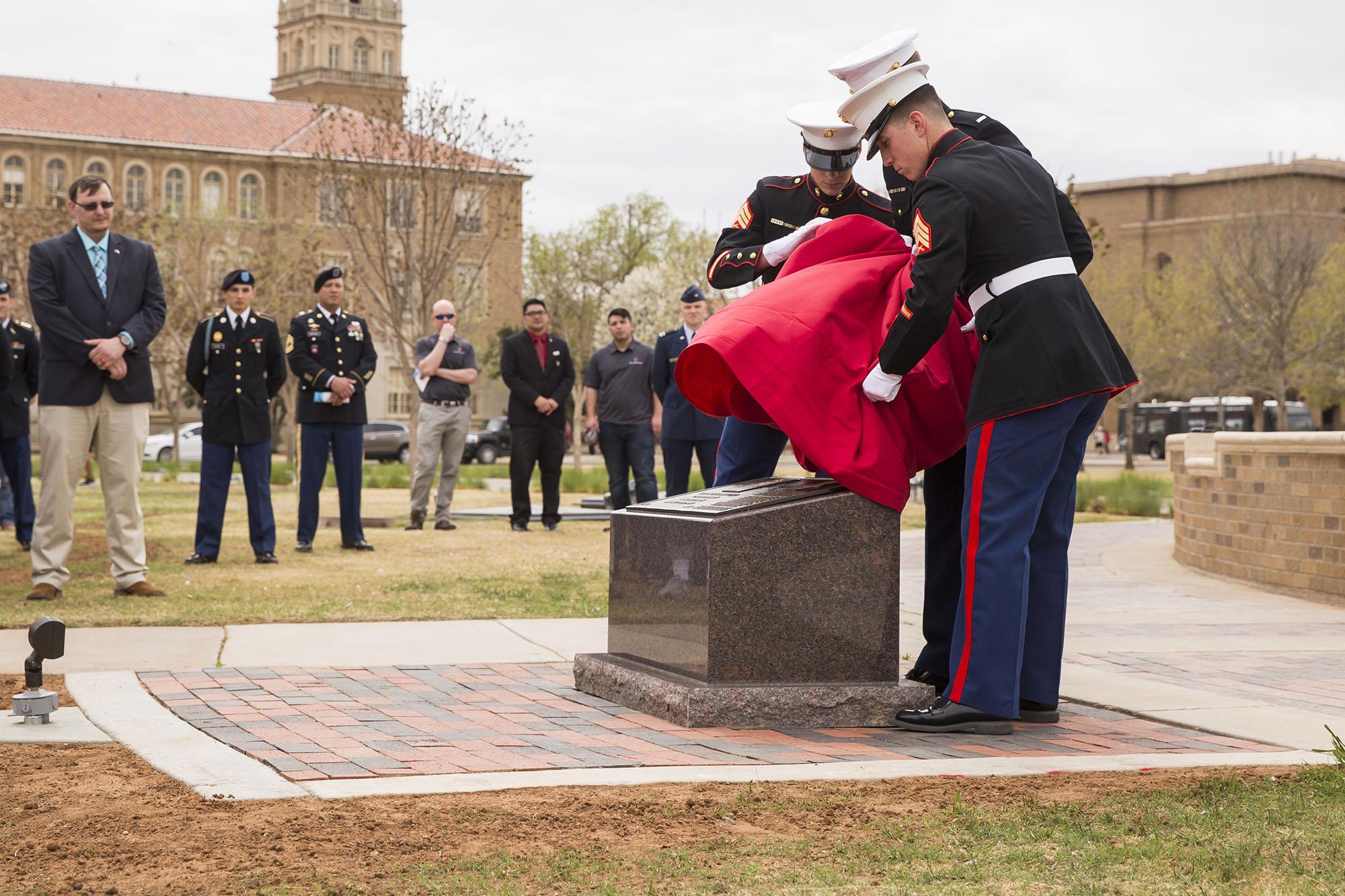 Texas Tech Hosts Medal of Honor Memorial Dedication Ceremony
