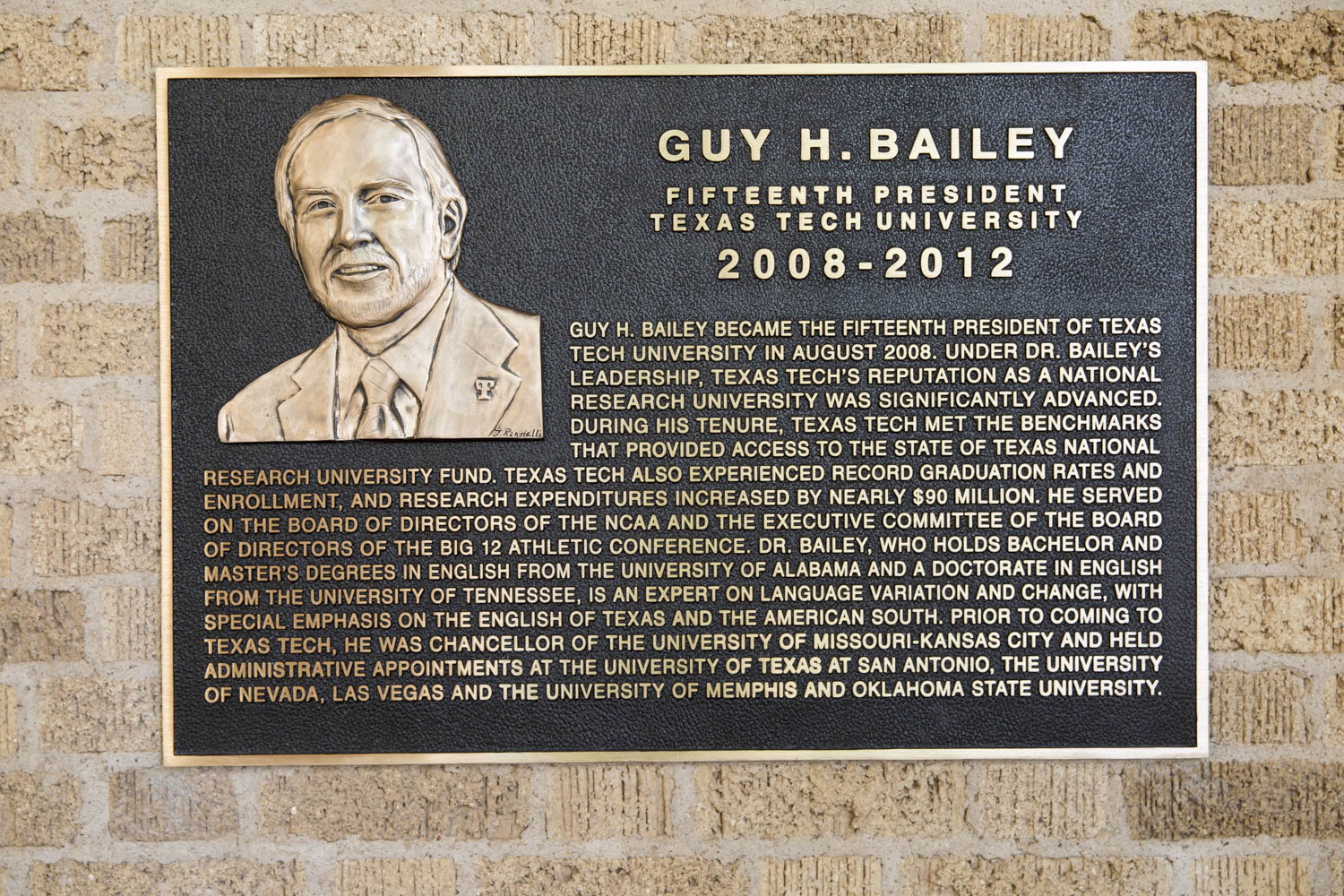 Bailey plaque