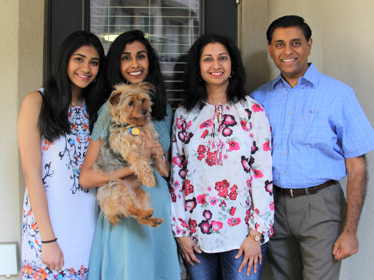 Mohana Krishnan and family