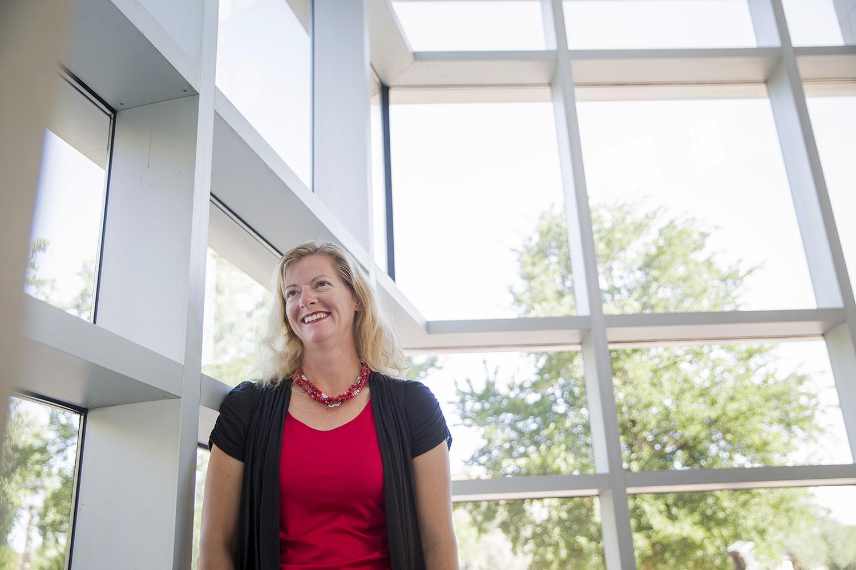 Mechanical engineering professor Michelle Pantoya