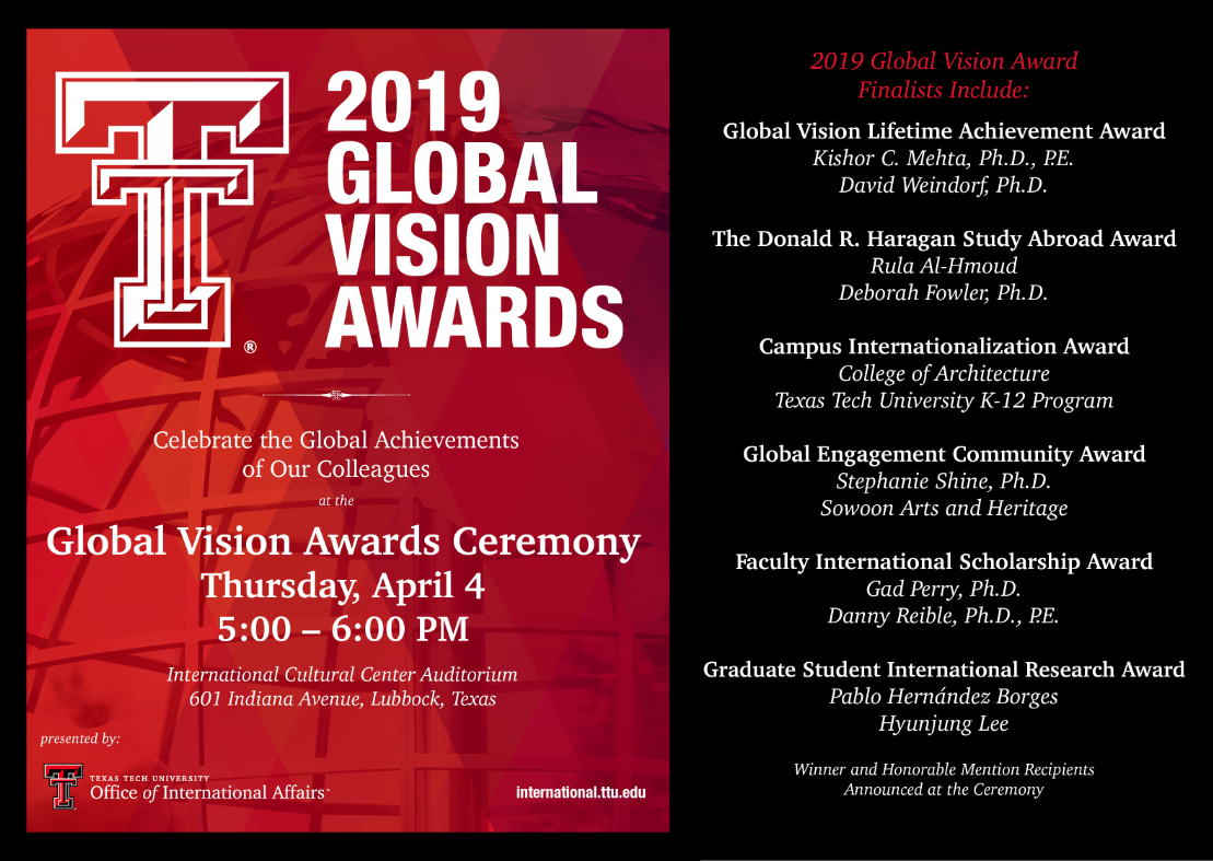 2019 Global Vision Awards
