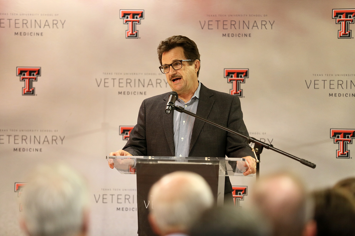 Texas Tech University President Lawrence Schovanec