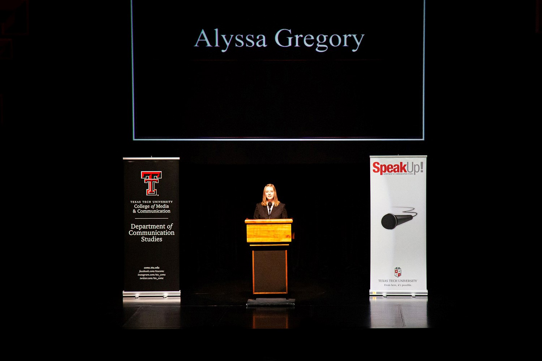 SpeakUp! Showcases Students