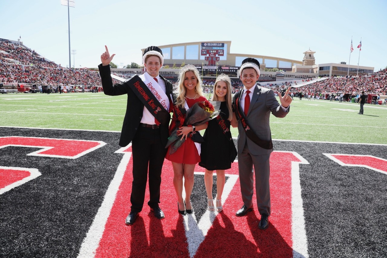 Reginald Lane and Hunter Heck were announced during halftime at Jones AT&T Stadium.