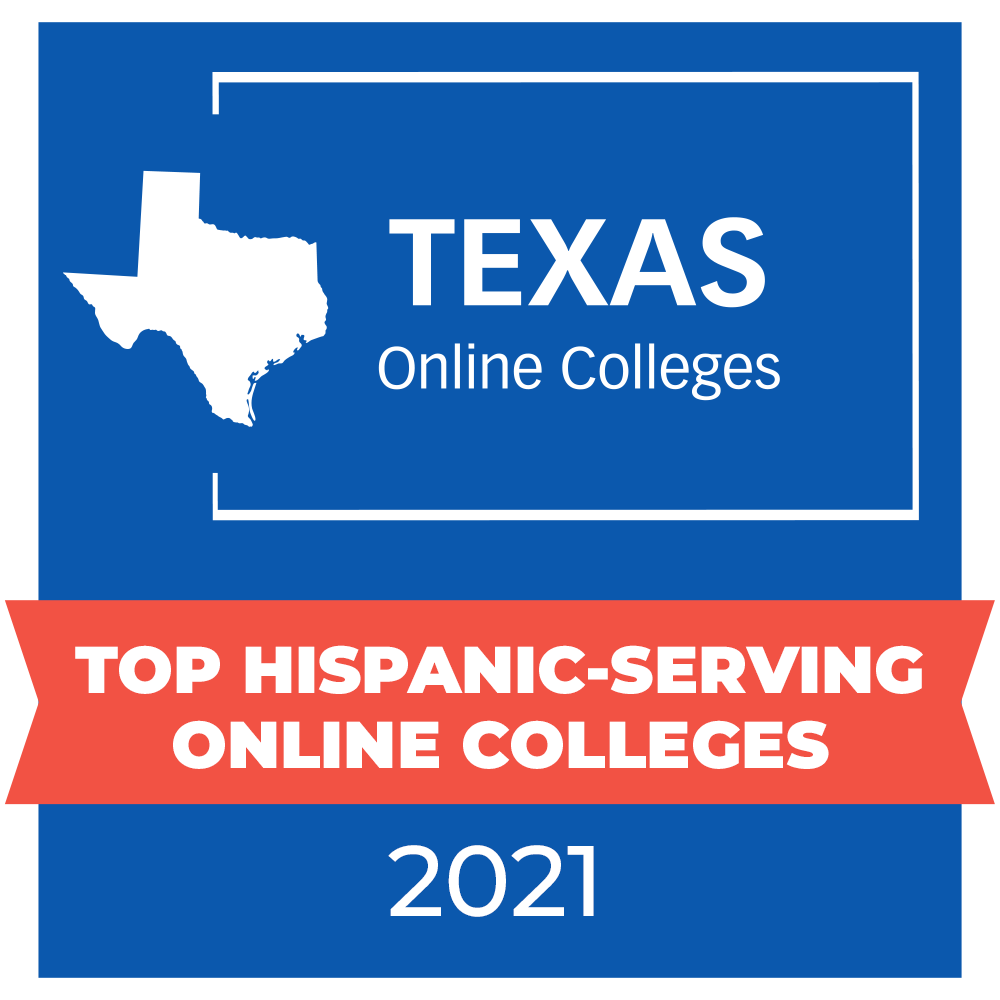 TexasOnlineColleges.com badge