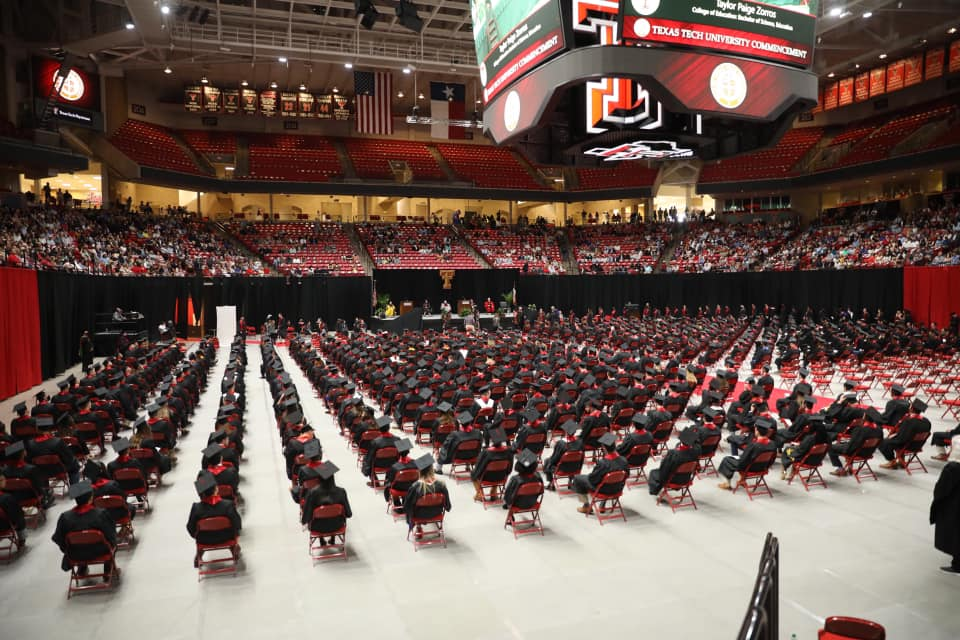 Saturday Commencement at USA - 2021