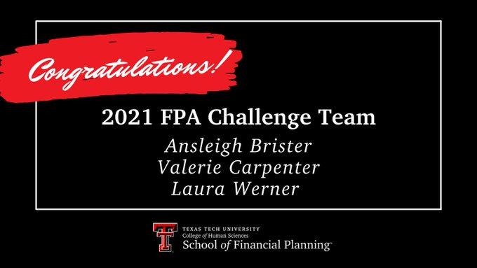 2021 Financial Planning Challenge